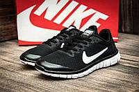 Кроссовки женские Nike Free Run 3.0, черные (2509-1),  [  36 37  ], фото 1