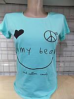 Женская футболка лето Турция оптом