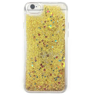 Чехол  накладка xCase на iPhone 6/6s Quicksand золото