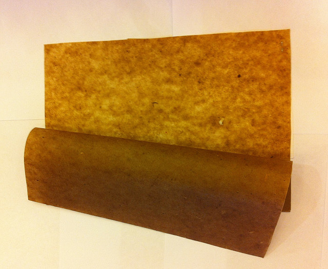 Бумага для упаковки металла, порезка на листы формата 500 x 420