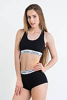 Calvin Klein Short (Кельвин кляин шорт) Нижнее женское белье Спортивные шортики Белые трусы