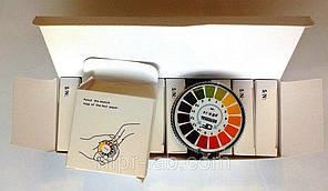 Упаковка лакмусового паперу ( pH-тест ) 1-14рН ( 10 рулонів по 5 м)