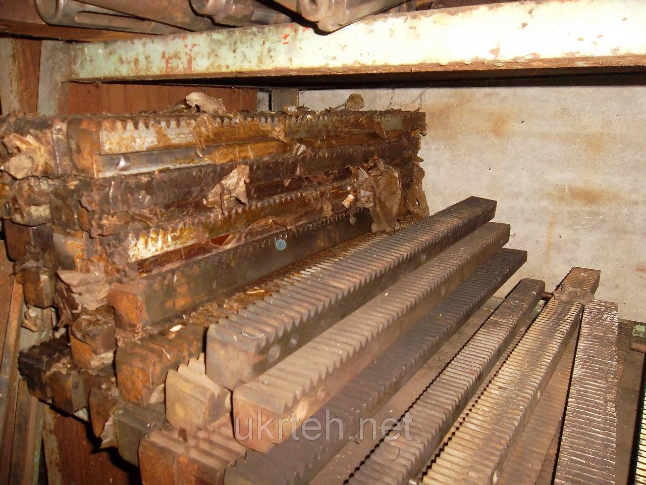 Зубчатая рейка токарного станка 1к62, 16к20, 1м63