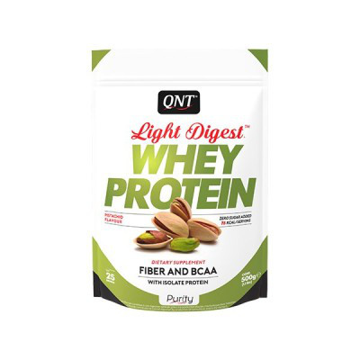 QNT_Light Digest Whey Protein 500 г - Pitachio