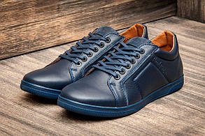 Туфли мужские Falcon Paul Parker, темно-синие (2873-2),  [  40 43  ] (реплика)