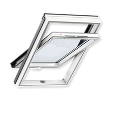 Мансардное окно VELUX ПВХ с ручкой снизу