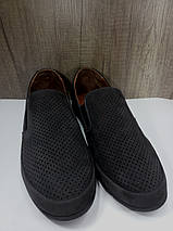 Туфли летние из натурального  нубука  МИДА 13381 нубук ., фото 2