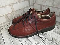 Finn Comfort_Германия кожа, шикарные комфортные мужские туфли большого размера 13р ст.32см X14