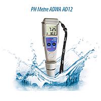Вологозахищений РН-метр ADWA AD12 (РН від -2,00 до 16,00; РН ± 0.01 pH) АТС, автоматичне калібрування.