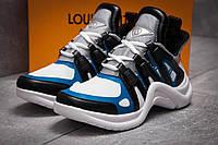 Кроссовки женские 13454, Louis Vuitton Archlight, темно-синие ( 37 38  )(реплика)