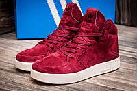 Кроссовки женские в стиле Adidas, бордовые (1039-2),  [  41 (последняя пара)  ]