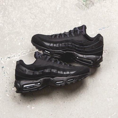 30b660ecc3b9 Подростковые +мужские кроссовки air max 95 полностью черные., ...