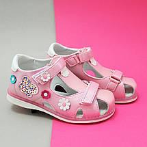 Розовые босоножки Ортопед для девочек Tom.m размер 30, фото 3