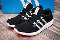 Кроссовки женские в стиле Adidas Bounce, черные (2502-1),  [  36 37 38 39 41  ], фото 1