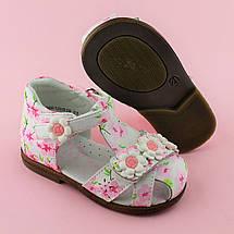 Детские кожаные босоножки для девочки тм Сказка размер 20, фото 3