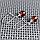 Янтарь плавленный, Ø10 мм., серебро, 330СРЯ, фото 3