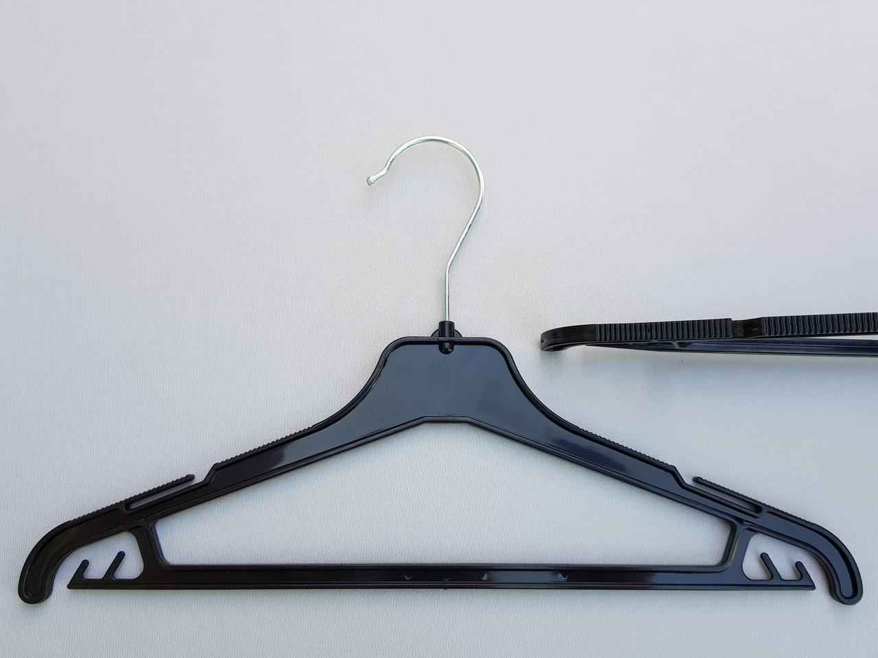 Длина 35 см. Плечики детские пластмассовые V-PY35 черные