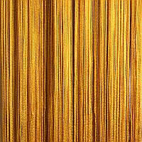 Шторы нити Однотонные №16 Золото