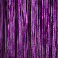 Шторы нити Однотонные №205 Фиолетовый