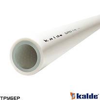 Полипропиленовая труба  PN 20 D 20 армированная KALDE (белая)