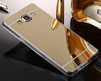Силиконовый зеркальный чехол для Samsung Galaxy J3 2016 (3 Цвета)