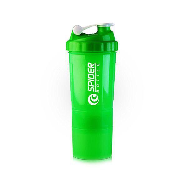 Шейкер Mini2GO Spider Bottle 500 ml + 2 контейнера