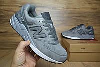 Мужские+подростковые кроссовки New Balance 999 серые замша