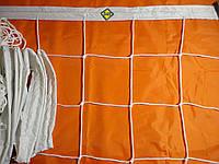 """Волейбольная сетка с шнуром натяжения. D 3,5мм., 15см. ячейка для волейбола """"Элит 15"""", ассорт"""