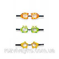 Детские очки для плаванья 3-8 лет Intex 55603