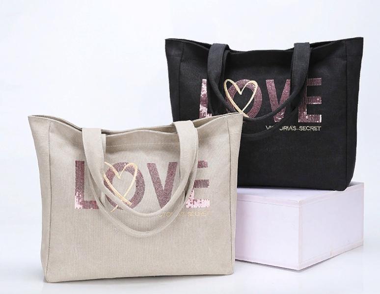 Пляжная сумка с пайетками Victorias Secret