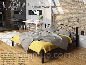 Металева ліжко Віола, фото 2