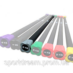 Бодибар 6 кг Fitex MD1137-6KG