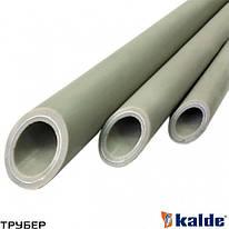 Полипропиленовая труба PN 10 D 25 KALDE (серое)