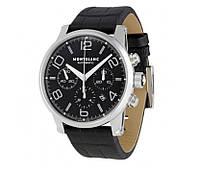 Часы Montblanc TimeWalker Automatic 44mm Silver/Black. Реплика, фото 1