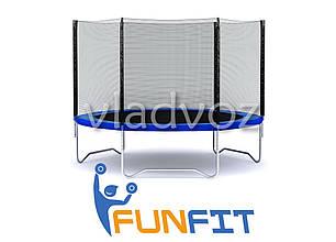 Батут детский уличный с защитной сеткой для дачи Funfit 183 см., фото 2