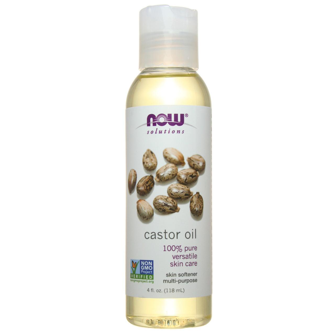 Масло Касторовое NOW Foods Castor Oil 118 ml