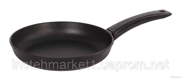 Сковорода БИОЛ 2204П (діаметр 220 мм), алюмінієва з антипригарним покриттям, бакелітова ручка, без кришки