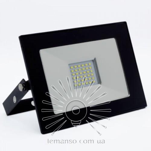 LED прожектор SMD LEMANSO 30W 6500K IP65 2400LM черный LMP11-36