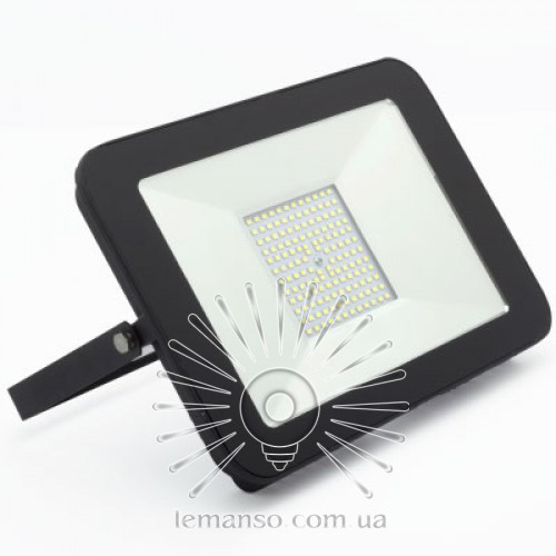 LED прожектор SMD LEMANSO 100W 6500K IP65 8000LM черный LMP11-106