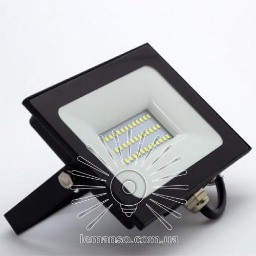 LED прожектор SMD LEMANSO 30W 6500K IP65 2400LM черный LMP9-32