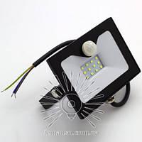 LED прожектор со встр. датчиком LEMANSO 10W 6500K IP65 800LM черный LMPS15