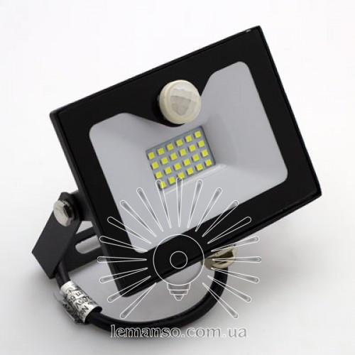LED прожектор со встр. датчиком LEMANSO 30W 6500K IP65 1800LM черный LMPS36