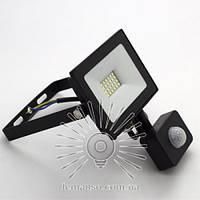 LED прожектор с датчиком LEMANSO 30W 6500K IP65 1800LM черный LMPS38