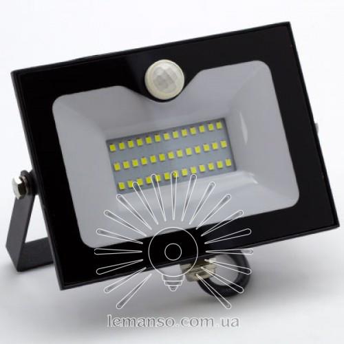 LED прожектор со встр. датчиком LEMANSO 30W 6500K IP65 2400LM черный LMPS35