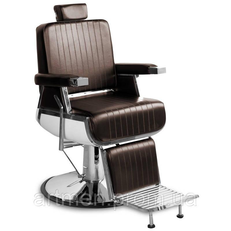 Парикмахерское кресло Barber TONY Brown