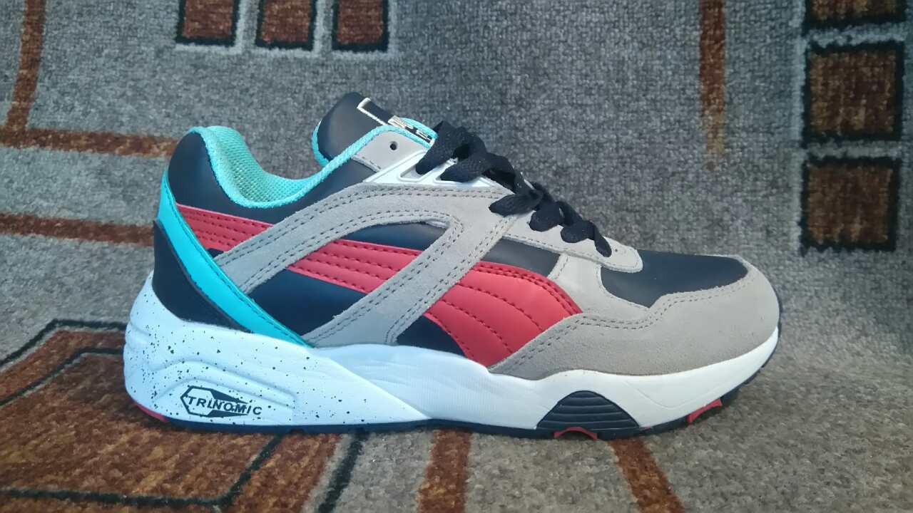 Женские+подростковые кроссовки Puma trinomic разноцветные - Мега-обувь в  Одессе c2af8aca74a