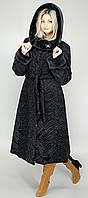 Шикарная женская шуба искусственный каракуль