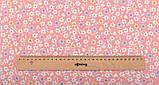 Набор отрезов ткани для пэчворка, скрапбукинга, рукоделия в персиковой гамме (8 отрезов  40*50 см), фото 4