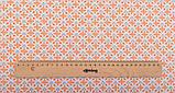 Набор отрезов ткани для пэчворка, скрапбукинга, рукоделия в персиковой гамме (8 отрезов  40*50 см), фото 7