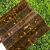 Янтарный профилированный  поликарбонат  1,05*2м, фото 5